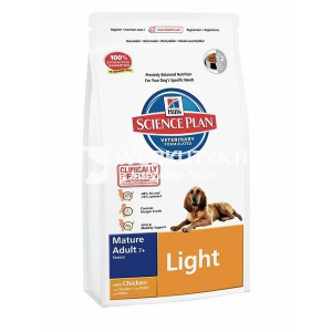 Hill's SP Canine Mature Adult 7+ Light Medium Chicken 12 kg