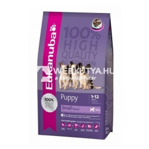 Eukanuba Puppy Small Breed 7,5 kg