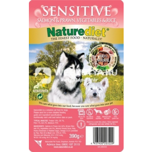 NatureDiet Sensitive 18 x 390 g