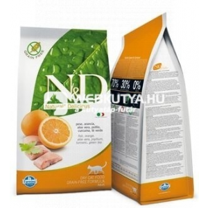 N&D Cat Adult Fish & Orange 1,5 kg