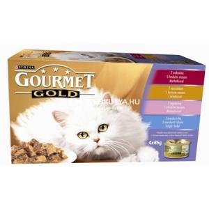 Gourmet Gold Pástétom multipack 4 x 85 g