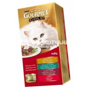 Gourmet Gold Falatok szószban multipack 4 x 85 g