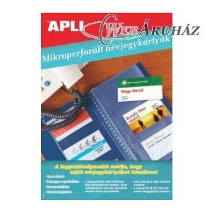 APLI APLI 90x50mm 200gr 100db Névjegykártya mikroperforált