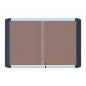 Beltéri fali vitrin parafa hátlappal (15XA4) fekvő