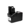 Powery Utángyártott akku Bosch fúró-csavarbehajtó GSR 9.6VES-2 NiCd