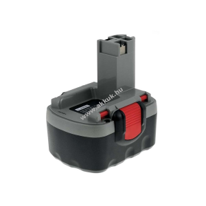 Powery Utángyártott akku Bosch Sarokcsiszoló GWS 14,4V 3000mAh O-Pack japán cellás
