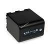 Powery Utángyártott akku Sony Videokamera DCR-DVD100E 4500mAh Antracit és LED kijelzős