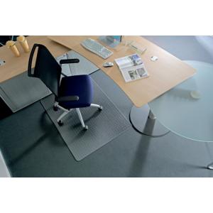 "RS OFFICE Székalátét, kemény felületre, E forma, 150x120 cm, RS OFFICE ""Roll-o-Grip"""