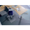 "RS OFFICE Székalátét, szőnyegre, E forma, 150x120 cm, RS OFFICE ""Roll-o-Grip"""