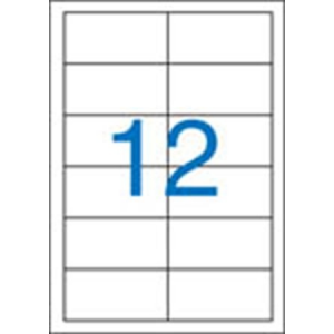 VICTORIA Etikett, univerzális, 97x42,4 mm, VICTORIA, 1200 etikett/csomag
