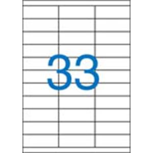 VICTORIA Etikett, univerzális, 70x25,4 mm, VICTORIA, 3300 etikett/csomag