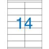 VICTORIA Etikett, univerzális, 105x40 mm, VICTORIA, 1400 etikett/csomag