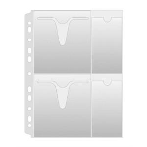 DONAU CD/DVD genotherm, lefűzhető, A4, 160 mikron, víztiszta, DONAU