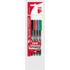 ICO Alkoholos marker készlet, OHP, 0,5 mm, F, ICO, 4 különböző szín