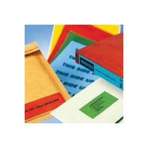 APLI Etikett, 12x18 mm, kézzel írható, színes, APLI, piros, 448 etikett/csomag