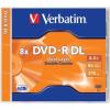 Verbatim DVD-R lemez, kétrétegű, 8,5GB, 8x, normál tok, VERBATIM