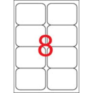 APLI Etikett, univerzális, 99,1x67,7 mm, kerekített sarkú, APLI, 800 etikett/csomag