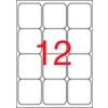 APLI Etikett, univerzális, 63,5x72 mm, kerekített sarkú, APLI, 1200 etikett/csomag