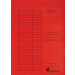 VICTORIA Gyorsfűző, karton, A4, VICTORIA, piros
