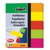 SIGEL Jelölőcímke, papír, 5x40 lap, 12x50 mm, SIGEL