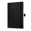 """SIGEL Jegyzetfüzet, exkluzív, A5, vonalas, 194 lap, puhafedeles, SIGEL """"Conceptum"""", fekete"""