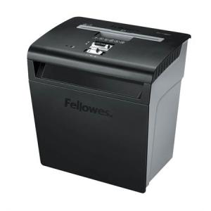 "FELLOWES Iratmegsemmisítő, konfetti, 8 lap, FELLOWES ""Powershred® P-48C"", fekete"