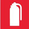 APLI Információs matrica, tűzoltó készülék, APLI