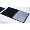 PANTA PLAST Névjegytartó, 400 db-os, gyűrűs, PANTAPLAST, kék