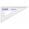 DONAU Háromszög vonalzó, műanyag, 60°, 12 cm, DONAU