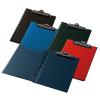 PANTA PLAST Felírótábla, fedeles, A4, sarokzsebbel, PANTAPLAST, sötétkék