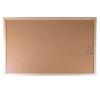VICTORIA Parafatábla, kétoldalas, 60x90 cm, fa keret, VICTORIA parafatábla