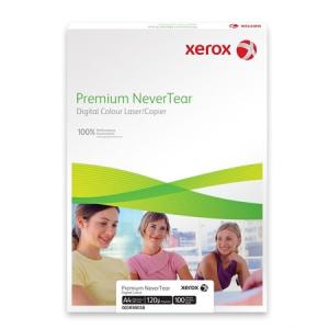 """Xerox Speciális média, téphetetlen, A4, 120 mikron, műanyag alapú, vízálló, XEROX """"Nevertear"""""""