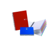 "MIQUELRIUS Spirálfüzet, A5, vonalas, 150 lap, MIQUELRIUS ""Note book 6"", piros"