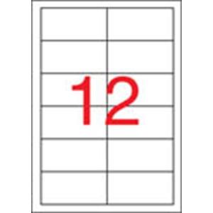 APLI Etikett, univerzális, 97x42,4 mm, APLI, 6000 etikett/csomag