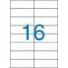 VICTORIA Etikett, univerzális, 105x37 mm, VICTORIA, 1600 etikett/csomag
