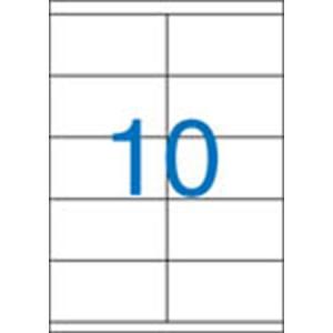 VICTORIA Etikett, univerzális, 105x57 mm, VICTORIA, 1000 etikett/csomag