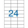 VICTORIA Etikett, univerzális, 70x37 mm, VICTORIA, 2400 etikett/csomag