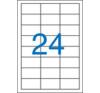 VICTORIA Etikett, univerzális, 64,6x33,8 mm, VICTORIA, 2400 etikett/csomag etikett