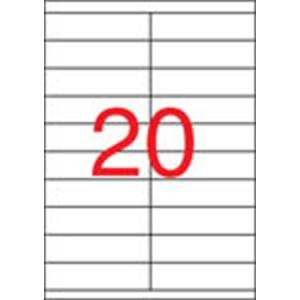 APLI Etikett, univerzális, 105x29 mm, APLI, 2000 etikett/csomag