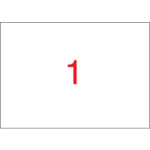 APLI Etikett, univerzális, 210x420 mm, A3, APLI, 100 etikett/csomag
