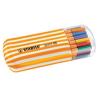 STABILO Tűfilc készlet, 0,4 mm, STABILO