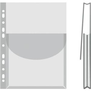 DONAU Katalógustartó genotherm, lefűzhető, A4, 170 mikron, víztiszta, 27 mm, DONAU