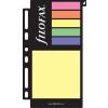 FILOFAX Kalendárium betét, öntapadó jelölőcímke és jegyzet, nagy, FILOFAX, színes