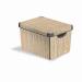 CURVER Tárolódoboz, 22 l, bambusz mintás, CURVER