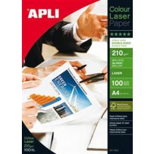 """APLI Fotópapír, lézer, A4, 210 g, fényes, kétoldalas, APLI """"Premium Laser"""" fotópapír"""