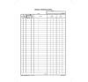VICTORIA Nyomtatvány, időszaki pénztárjelentés, 25x4, A4, VICTORIA