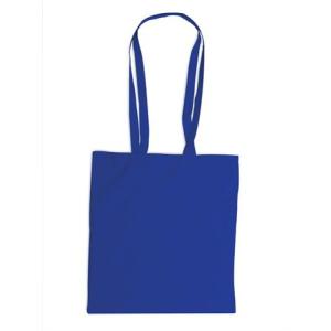 . Bevásárlótáska, vászon, 38x42 cm, kék
