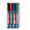 EDDING Tábla- és flipchart marker készlet, 1,5-3 mm, kúpos, EDDING