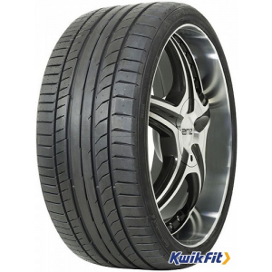 Continental 255/50R20 Y SportContact 5 XL nyárigumi Y=300 km/h 109=1030kg Off Road gumiabroncs
