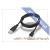 USB USB - micro USB adat- és töltőkábel 100 cm-es vezetékkel - fekete